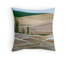 Palouse Landscape Throw Pillow