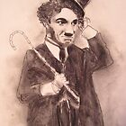 Charlie Chaplin by wordthrift