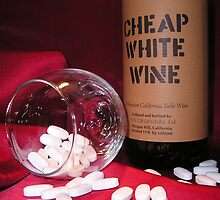 Cheap White Wine by wordthrift