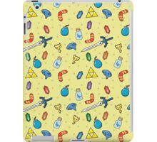 Zelda Inspired Item Bag Pattern iPad Case/Skin