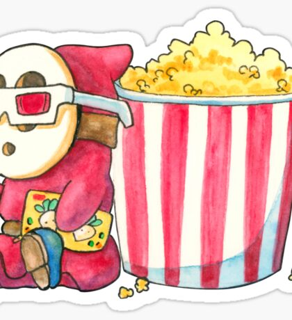 Shyguy at the Movies Sticker