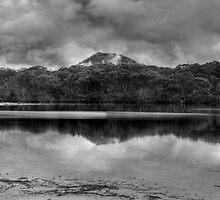 Oyster Creek lagoon B+W by donnnnnny