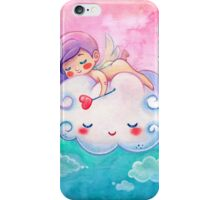 Sleeping Little Angel Cherub & Cloud  iPhone Case/Skin