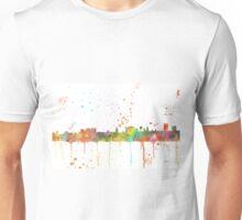 Cheyenne, Wyoming Skyline Unisex T-Shirt