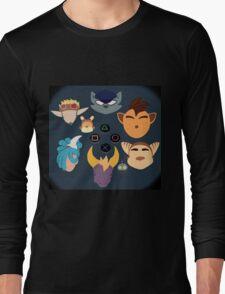 Sony Mascots Long Sleeve T-Shirt