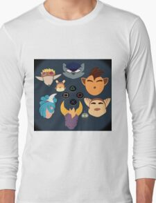 Sony Mascots Long Sleeve T-Shirt