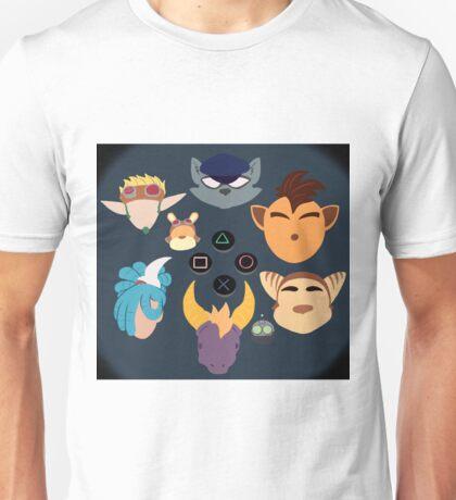 Sony Mascots Unisex T-Shirt