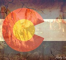 Garden of the Gods CO flag by Emily Christine Lankford