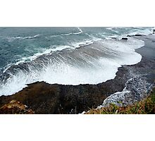Invading Wave Photographic Print