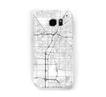 Las Vegas Map Gray Samsung Galaxy Case/Skin