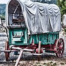 "Wagon Train ""The Applegate Trail"" by Jeannie Peters"