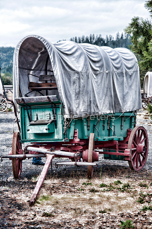"""Wagon Train """"The Applegate Trail"""" by Jeannie Peters"""