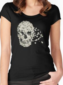 A Beautiful Death  Women's Fitted Scoop T-Shirt