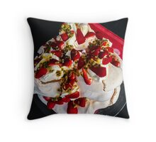 Passion for Pavlova Throw Pillow