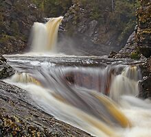 Pencil Pine Creek....The Third Set of Falls by tinnieopener