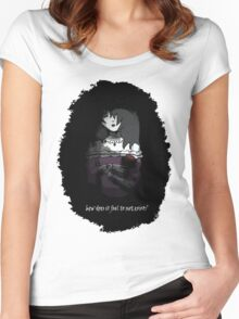 Another Doll Women's Fitted Scoop T-Shirt