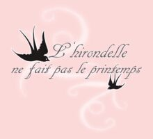 L'hirondelle ne fait pas le printemps by Whispatchet