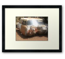 rusted miles Framed Print