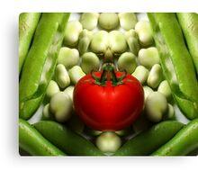 Double Tomato Canvas Print