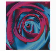 Velvet psychedelia - Rose design One Piece - Long Sleeve