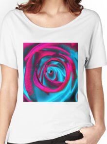 Velvet psychedelia - Rose design Women's Relaxed Fit T-Shirt