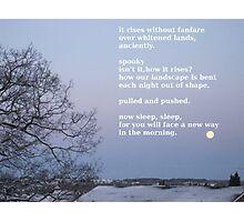 moon 1 Photographic Print