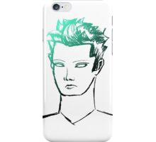 Punk Portrait--Highlight iPhone Case/Skin