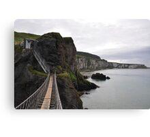 Carrick Rope Bridge Canvas Print