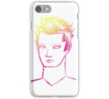 Punk Portrait--Neon 2 iPhone Case/Skin