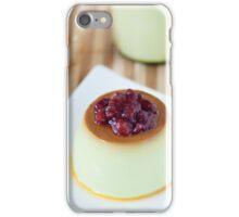 Green Tea Latte Pudding iPhone Case/Skin