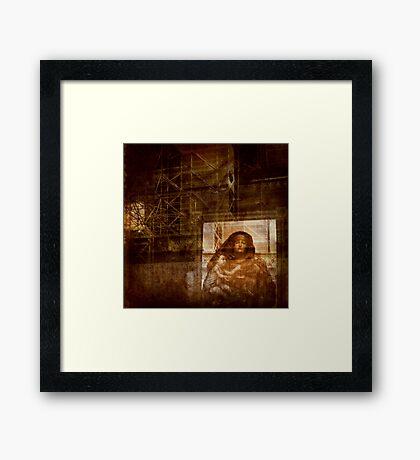 The Witness Framed Print