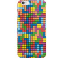 Tetris Inspired Multicolored Pattern iPhone Case/Skin