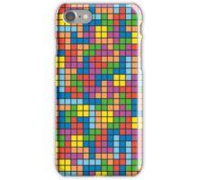 Tetris Inspired Multicolored Pattern iPhone Case/Skin