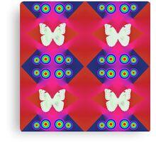 Butterflies Lux Y Canvas Print