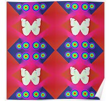 Butterflies Lux Y Poster