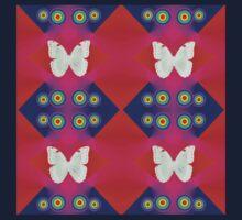 Butterflies Lux Y Kids Tee