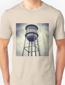 Small Town Water Tower Unisex T-Shirt