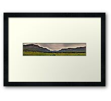 Capertee Majesty *(105 Exposure HDR Panoramic)* - The Capertee Valley, NSW Australia   Framed Print