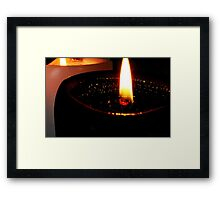 Black Light Framed Print