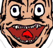 Face by Orbal Sticker