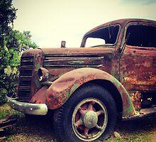 Rusty Broke Down Pickup Truck by JULIENICOLEWEBB