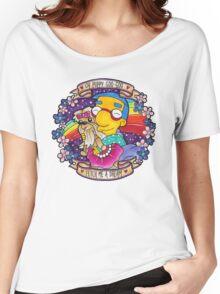 Milhouse - Oh Puppy Goo-Goo... Fetch me a dream! Women's Relaxed Fit T-Shirt