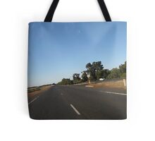 Down the Highway Tote Bag