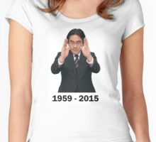 Satoru Iwata - Immortalize The Legend  [RIP]  Women's Fitted Scoop T-Shirt