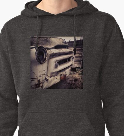 Classic Truck Abandoned in Washington State Pullover Hoodie