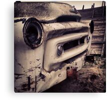 Classic Truck Abandoned in Washington State Canvas Print