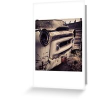 Classic Truck Abandoned in Washington State Greeting Card