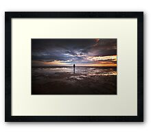 Iron And Water Framed Print