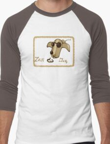 Zen Dog Men's Baseball ¾ T-Shirt