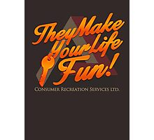 Consumer Recreation Services (CRS) Photographic Print